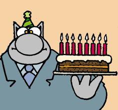 Happy birthday - Le Chat