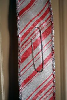 Tips from a Typical Mom: A Creative Way to Display Christmas Cards with Christmas Ribbon