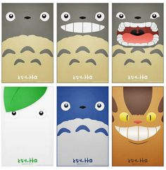 Totoro Posters by Nortiker on Etsy