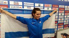 Atleta israelense leva medalha de prata no Campeonato Europeu de Atletismo.