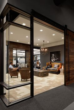 Corporate Office Design – Don Pedro – Executive Home Office Design Cool Office Space, Office Space Design, Office Interior Design, Office Interiors, Office Designs, Small Office, Modern Office Decor, Industrial Office Design, Home Office Decor