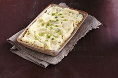 The combination of garlic in the boiling water and KRAFT Creamy Herb