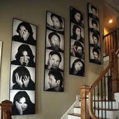 Luv this going up the stairs.. of the kids though.JJH here it is again...form the movie Keeping Up with the Jones'