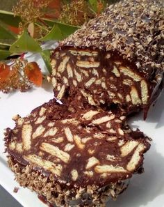 Greek Sweets, Greek Desserts, No Cook Desserts, Sweets Recipes, Greek Recipes, Easy Desserts, Cake Recipes, Snack Recipes, Chocolate Sweets