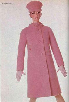 1960s pink coat