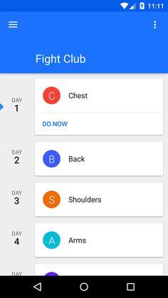 Progression - Fitness tracker