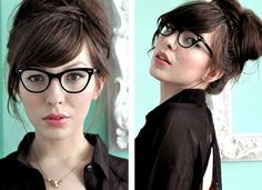 I like her hair style !!  bun      http://www.lifeinabreakdown.com/easy-hairstyles-for-work/