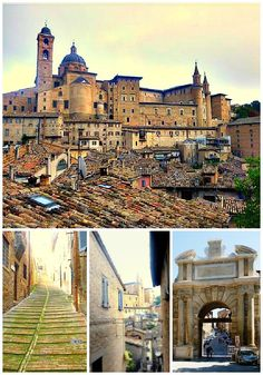 Urbino – not the Ducal Palace