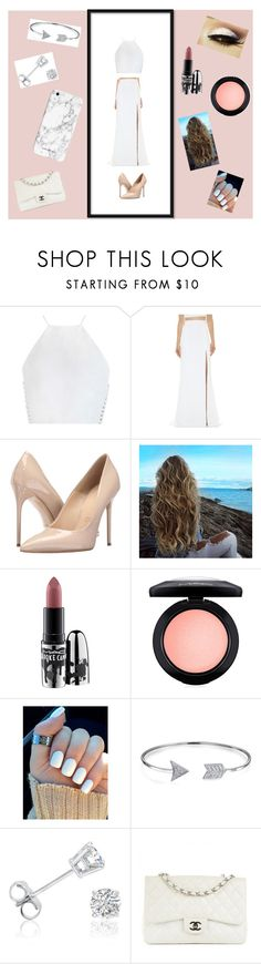 """""""Random Outfit 12"""" by kiara-garcia ❤ liked on Polyvore featuring Zimmermann, J. Mendel, Massimo Matteo, MAC Cosmetics, Bling Jewelry, Amanda Rose Collection and Chanel"""