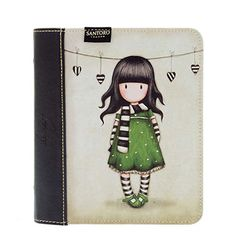 Gorjuss Travel Journal - The Scarf Santoro London, 3d Cards, Lunch Box, Stationery, Organization, Journal, Gifts, Travel, Diary Book