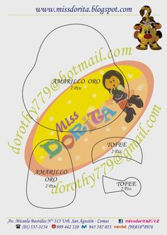Miss Dorita Diy And Crafts, Paper Crafts, Animal Crafts, Paper Piecing, Tweety, Scooby Doo, Safari, Baby Shower, Scrapbook