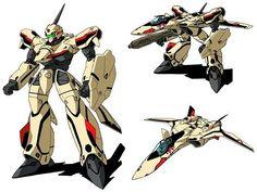 【マクロス】YF-19バルキリーってロボットとして美しいよな