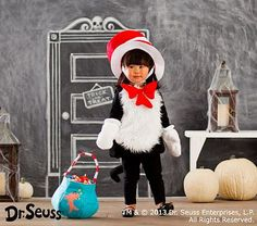 Dr. Seuss; Cat in the Hat Baby Costume
