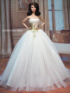 #Barbie #dolls #weddings / eifel 85  / 1..4