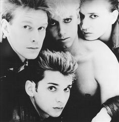 """Depeche Mode in the early years ....it started with """"But not Tonight"""" and """"Everything Counts"""" for me"""
