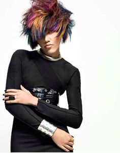 Couture Meets Coiffure: An Homage to Chanel by Joico's Stella Livoti