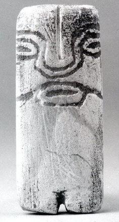 Standing Figure    Date:      3rd millennium BCE  Geography:      Ecuador  Culture:      Valdivia  Medium:      Stone