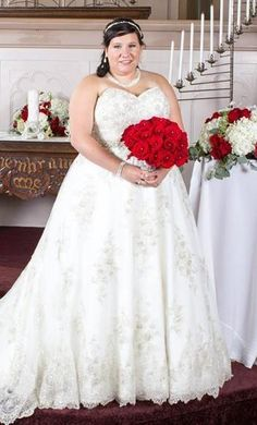 Plus Size Wedding Ball Gowns Can Be Made Strapless Like This Design Some A Line Have Gown Feel As Well