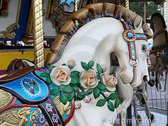Free Pictures Of Carousel Horses | Royalty Free Stock Photo: Carousel Horse