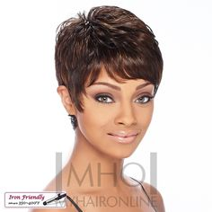 MyHairOnline - It's a Wig Denver Synthetic Hair Wig (Futura), $24.99 (http://www.myhaironline.com/its-a-wig-denver-synthetic-hair-wig-futura/)