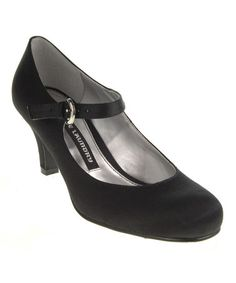 Take a look at this Black Paloma Mary Jane Pump by Chinese Laundry on #zulily today!