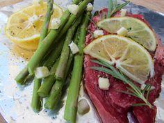 Lemon Rosemary Steak Recipe - Great for camping