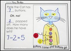 73 Cool Pete the Cat Freebies and Teaching Resources - KindergartenWorks
