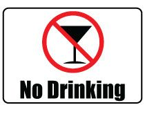 There are many places and events where drinking alcohol not allowed so that this Printable No Drinking Sign will help you to place a No Drinking Signboard in such places and events.