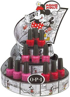 OPI new Minnie Mouse collection...so cute!