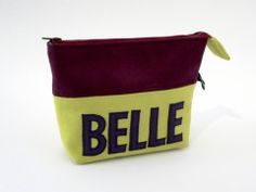 Cosmetic bag for Christmas A great gift for women! Belle – Cosmetic Bag by Eva Engelhardt