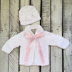 LIttle Cottage Knits ~ribbon sweater
