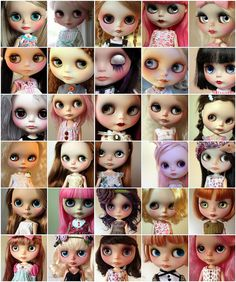 China-Lilly's Blythe collection.  2011 / Year 1 / THIRTY!  Lucky girl...  <3