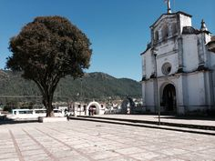 Catholic Chruch in village of Zinacantan, home of the Tzotzil Indians of Mayan descent #travel #Photography #Mexico