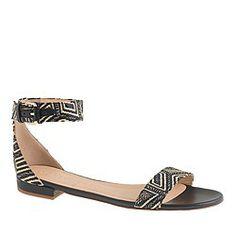 Pre-order Maya raffia ankle-strap sandals