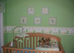 Baby Frog Nursery Theme Love The Border