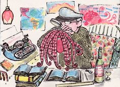 my vintage book collection - illustrated by Bernard Waber
