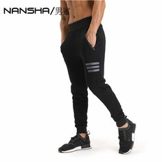 139f04c85bbfc1 Buy 2017 GYMS New Men Pants Compress Gymming Leggings Men Fitness Workout  Summer Sporting Fitness Male Breathable Long Pants