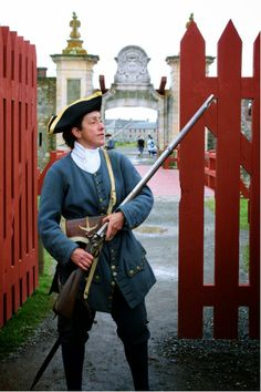Louisbourg in Cape Breton Nova Scotia. Remembering going on a school trip there and hoping to go back one day :) French Revolution, American Revolution, Cabot Trail, Enchanted Island, Rangers, Seven Years' War, My War, Atlantic Canada, Canadian History