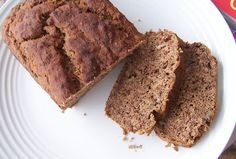 Banana Bread: Gluten Free, Dairy Free, Sugar Free, Egg Free I used an egg instead of the flax seed, and I used some honey instead of stevia.  It's not too sweet, but it's moist!  I could always use a little more honey or some maple syrup or even apple juice next time.