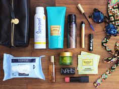 10 Essential Beauty Products You Need In Your Beach Bag via @cntraveler