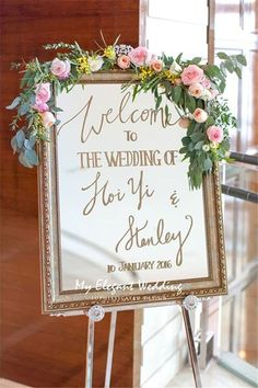 Awesome 62 Vintage Welcome Wedding Sign Ideas https://bitecloth.com/2017/10/12/62-vintage-welcome-wedding-sign-ideas/