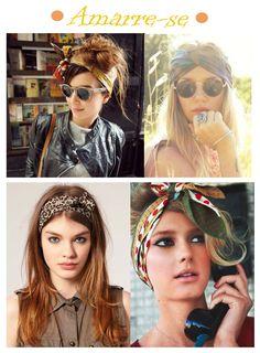 Como Usar: Lenços e Turbantes http://viroutendencia.com/2014/01/21/como-usar-lencos-e-turbantes/                                                                                                                                                     Mais