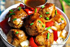 Chicken Meatballs Stir-Fry in Black Bean Sauce - Fuss Free Cooking Asian Recipes, Healthy Recipes, Ethnic Recipes, French Recipes, Asian Foods, Chinese Recipes, Beef In Black Bean Sauce, Healthy Dinner Options, Stir Fry Dishes