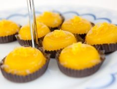 Quindim ( A Brazilian dessert made with sugar, coconut and lots of egg yolk ) yummy