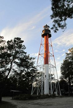 Crooked River Lighthouse, FL coast, 1-13-14