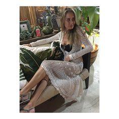 Crochet sempre femenino por @djcrisproenca ❤️#GIOVANADIAS #temporada2017trancoso