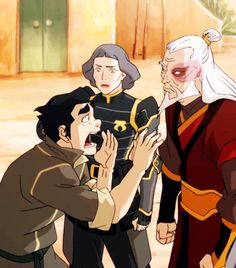 Legend Of Korra Avatar The Last Airbender I Think Thats An Appropriate Reaction To Meeting Zuko