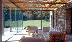 Pergola madeira+Vidro