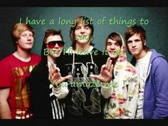The Maine- The Way We Talk (With Lyrics) - YouTube