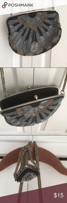 Selling this Beaded purse on Poshmark! My username is: dwool. #shopmycloset #poshmark #fashion #shopping #style #forsale #Handbags